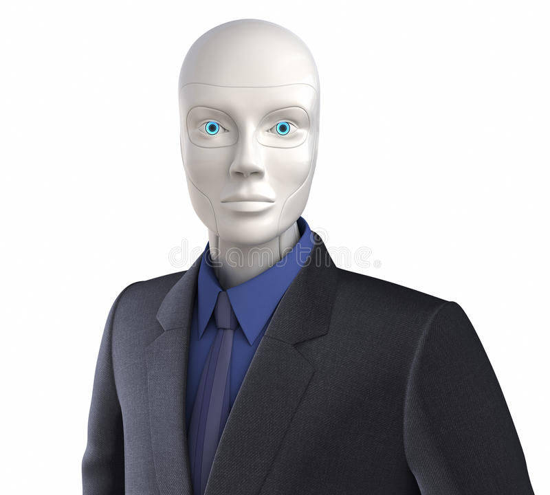 Cyberarbeider royalty-vrije illustratie