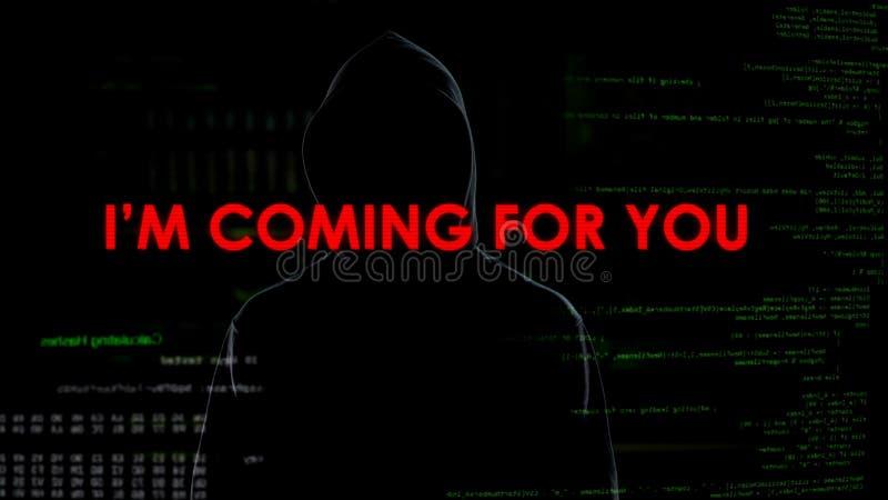 Cyberattacks anónimos que amenazan a la privacidad y a la seguridad nacional, terrorismo imágenes de archivo libres de regalías