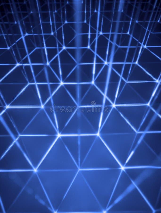 Cybercells. ilustración del vector