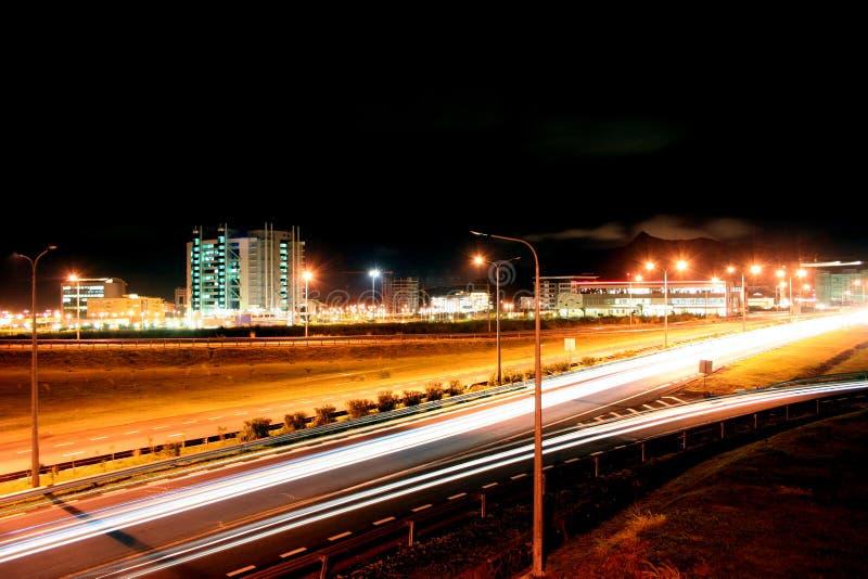 cybercity Mauritius fotografia stock