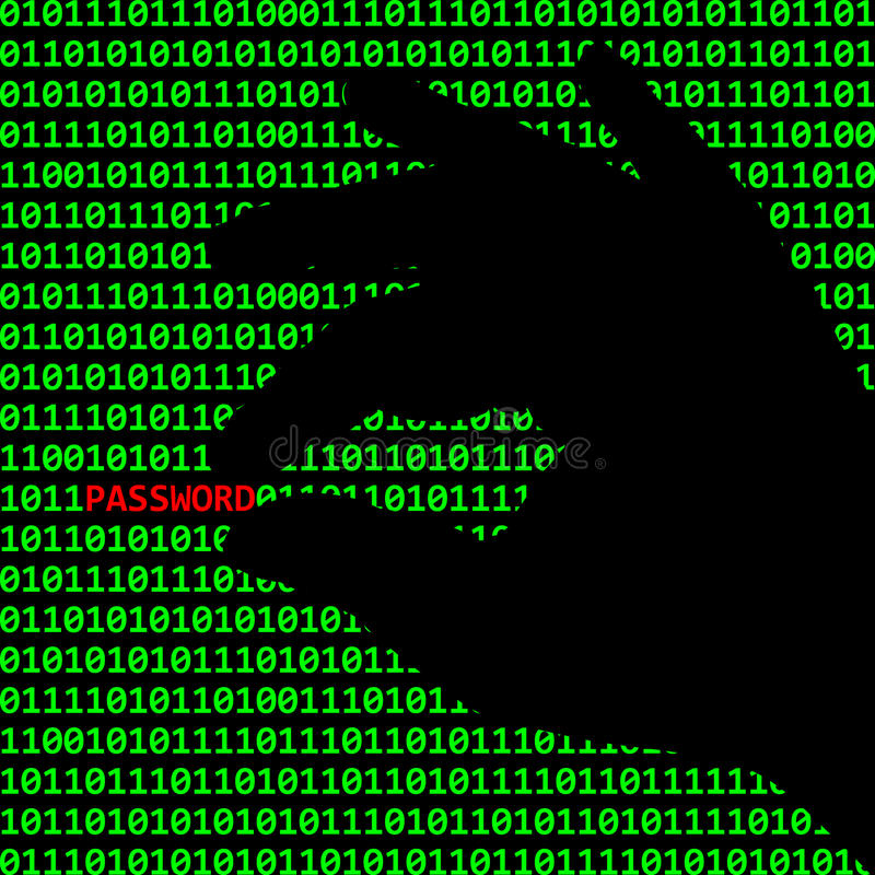Cybercrime stock illustrationer