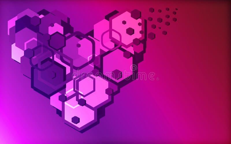 Cyberheart obrazy royalty free