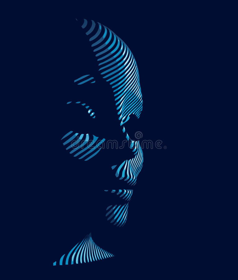 Download Cybernetic man stock vector. Image of network, concept - 6123915