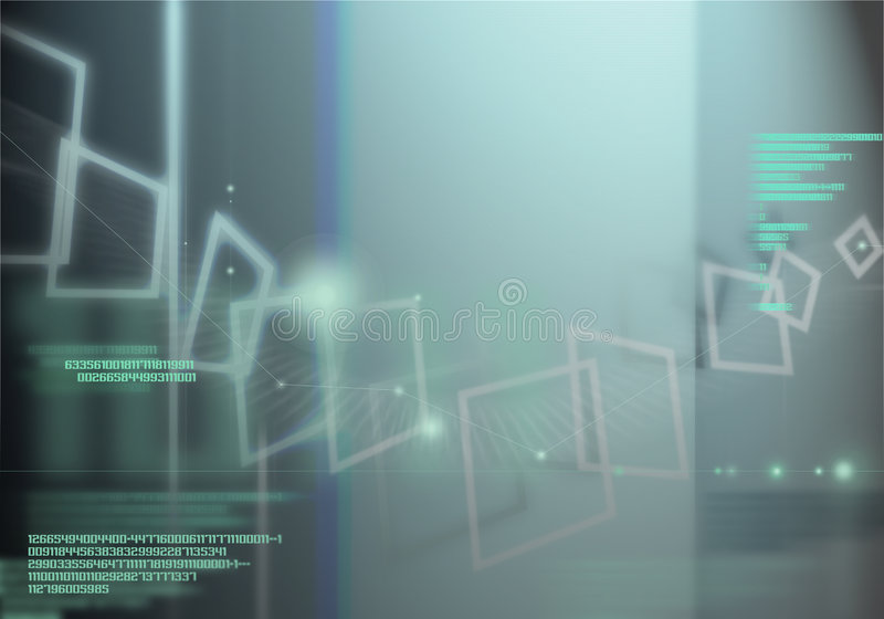 Cybernetics - I vector illustration