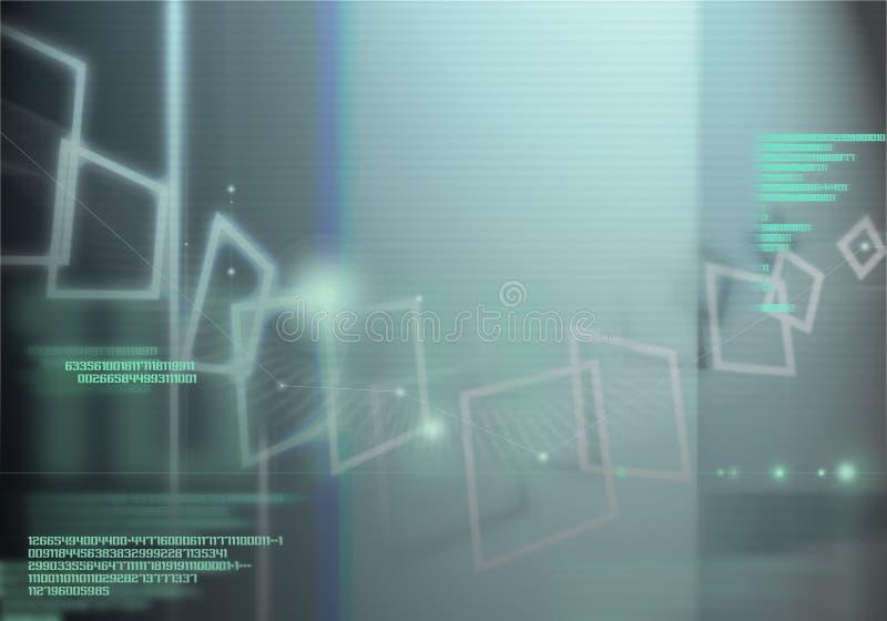 cybernetyka, ilustracja wektor
