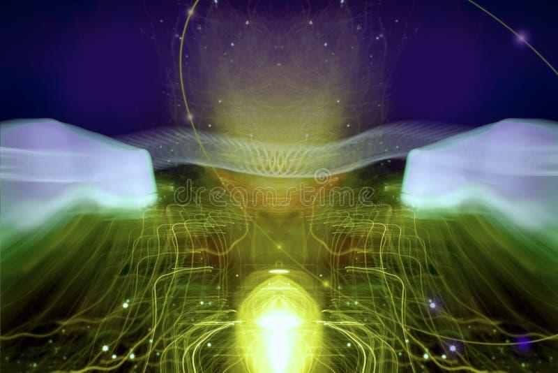 cybernetyki iv royalty ilustracja