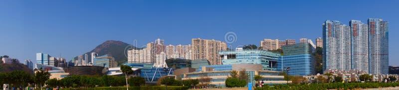Hong Kong Cyberport stock photo