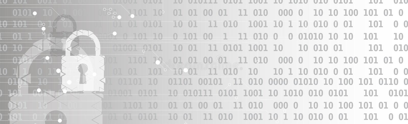 Cybersecurity και πληροφορίες ή προστασία δικτύων Μελλοντικές υπηρεσίες Ιστού τεχνολογίας για την επιχείρηση και το πρόγραμμα Δια διανυσματική απεικόνιση