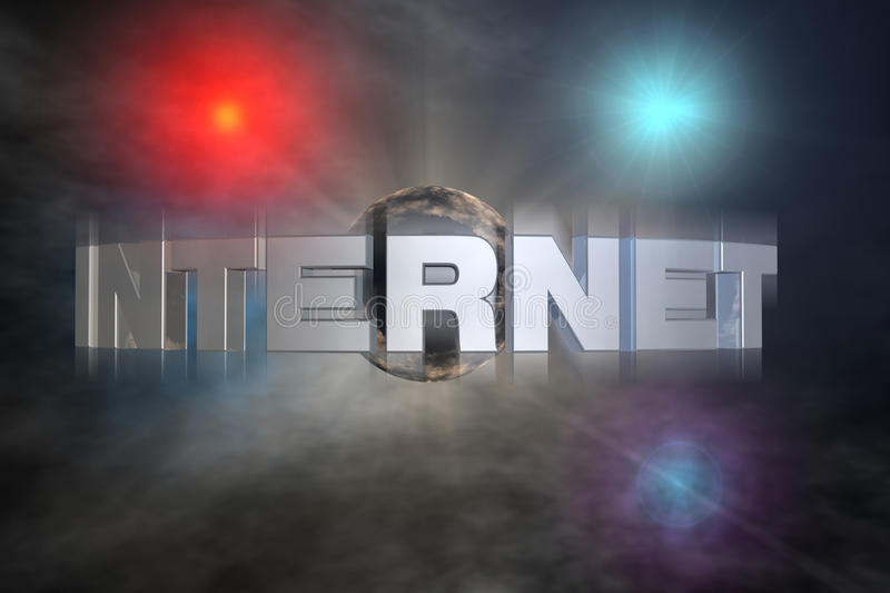 Download Cyberspace stock illustration. Image of universe, modem - 12039236