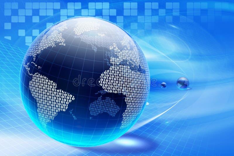 Cyberspace ilustração royalty free