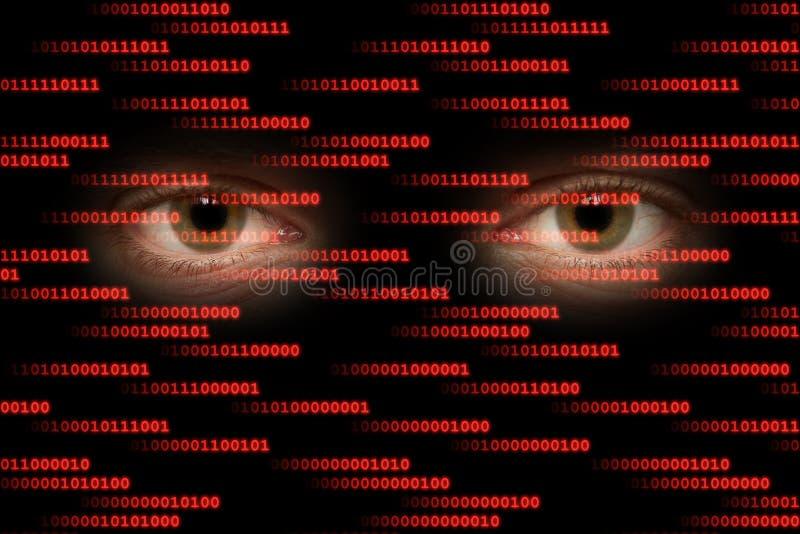 cyberspace royalty-vrije stock afbeeldingen