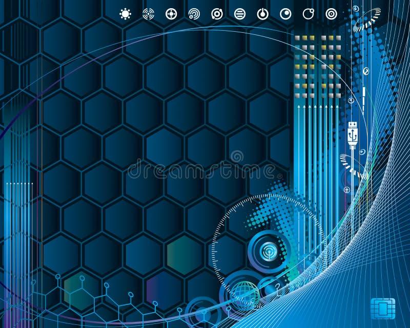 CyberTech vektor abbildung