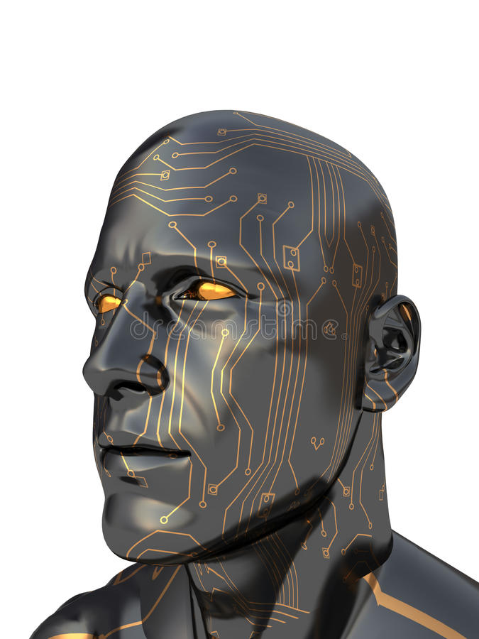 Cyborg lizenzfreie abbildung