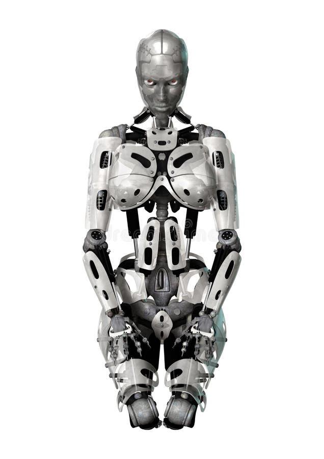 cyborg stock illustratie