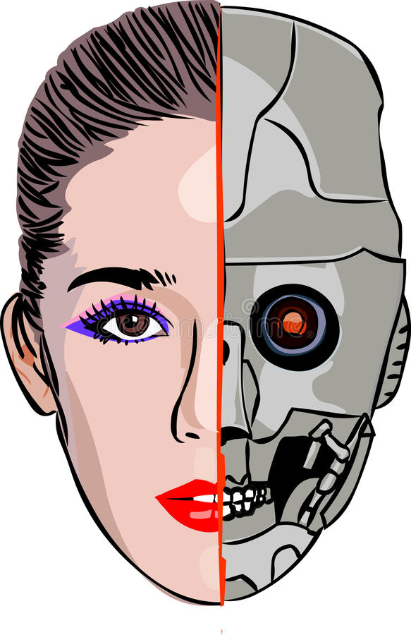 cyborg στοκ εικόνες