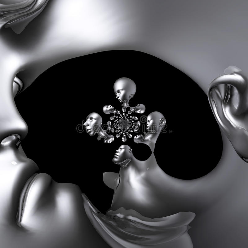 Download Cyborg Stock Illustration - Image: 43454909