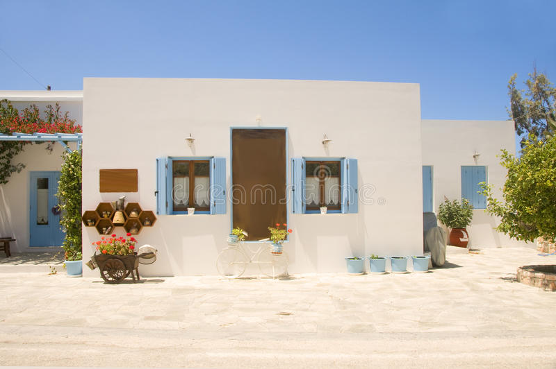 Download Cyclades Architecture Pollonia Milos Stock Image - Image: 25198199