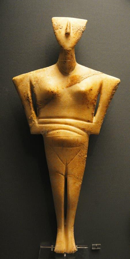 Cycladic艺术博物馆在雅典 库存照片