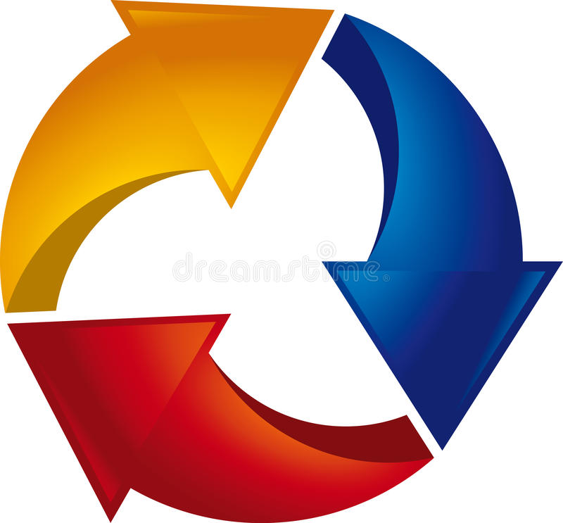 Download Cycle Arrows Stock Photography - Image: 27257262