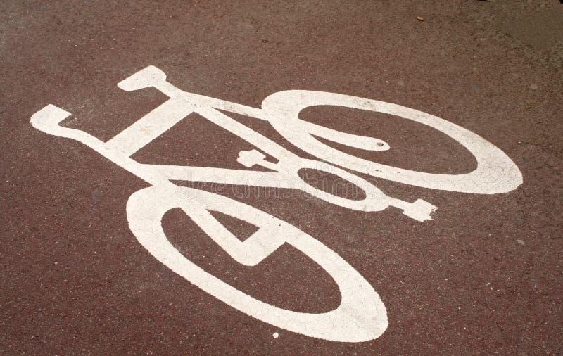 Cycle-chemin photos libres de droits