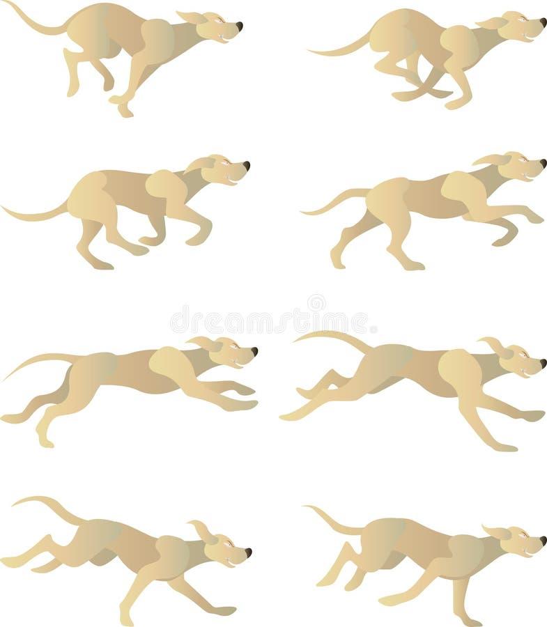 Cycle de Dogrun illustration de vecteur