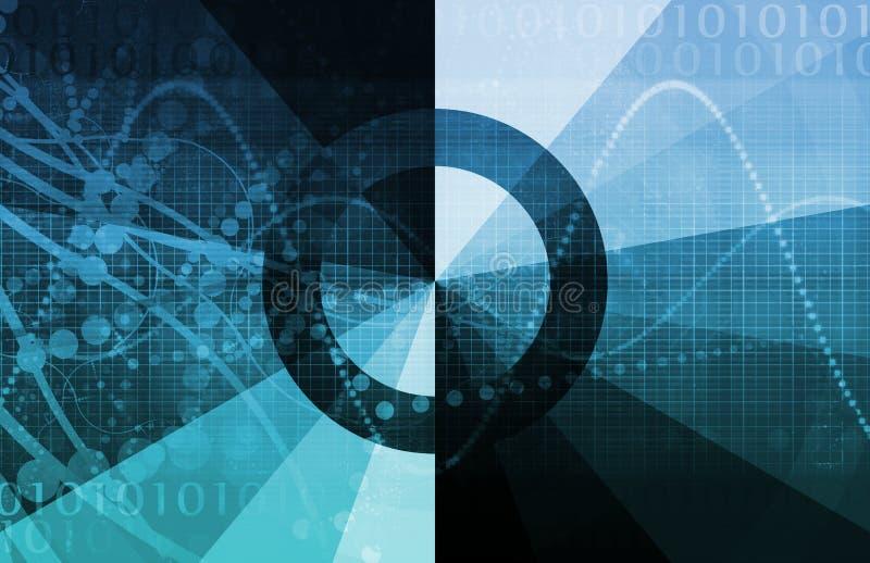 Cycle de vie de technologie illustration libre de droits