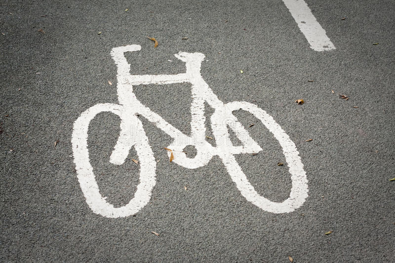 Cycle Highway Royalty Free Stock Image