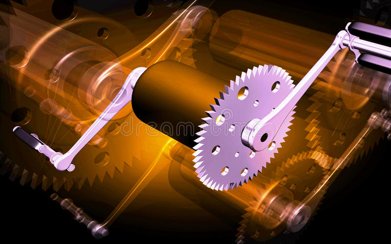 Download Cycle Pedal Royalty Free Stock Photography - Image: 12233257