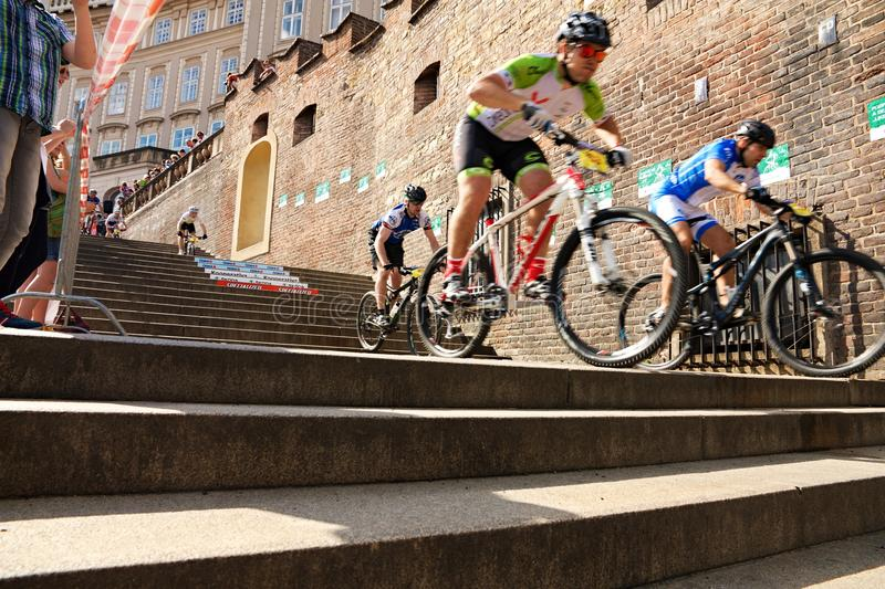 Cycle race royalty free stock images