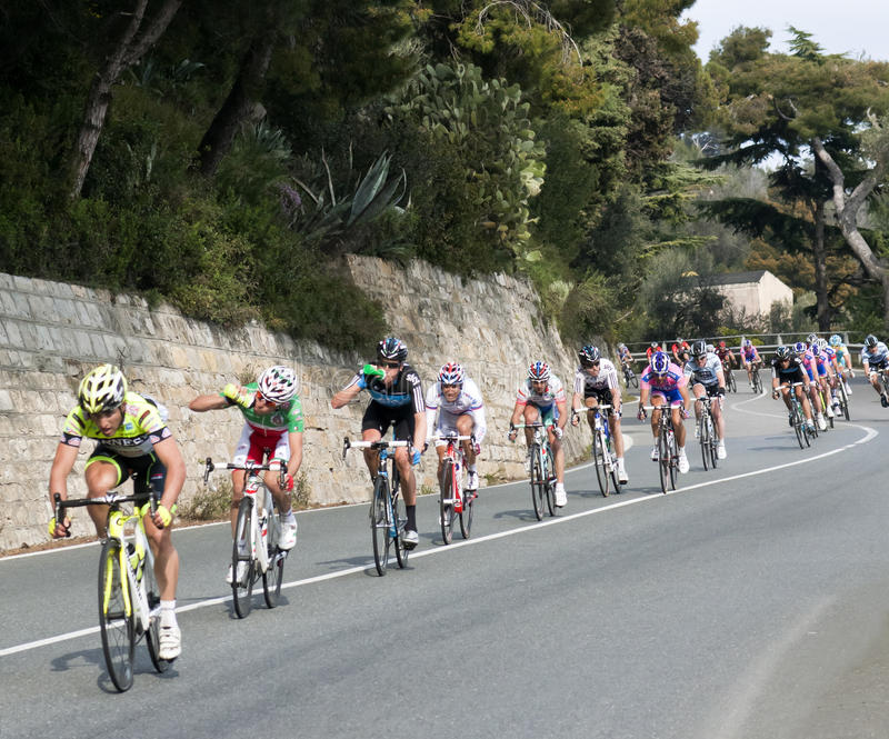 Download Cycle Race From Milano To San Remo 2011 Editorial Image - Image: 18931760