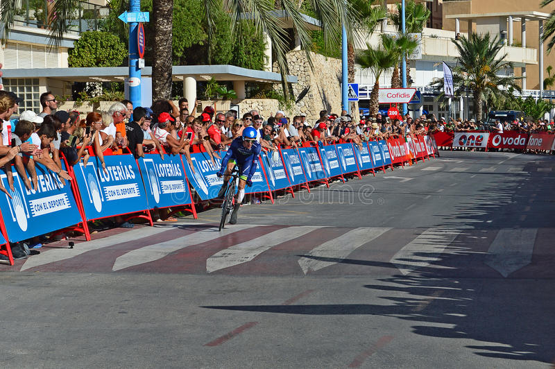 Cycle Racer Simon Yates Orica Bikeechange royalty free stock photo
