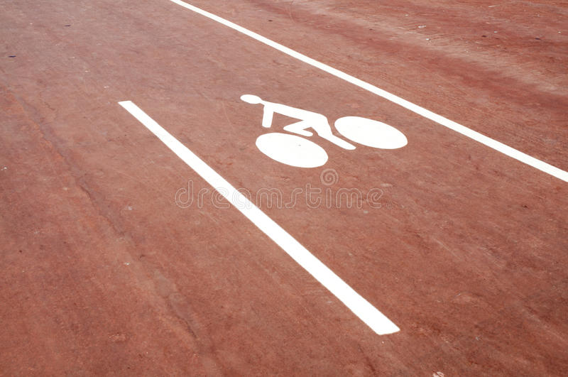 Download Cycle sign stock image. Image of ground, cyclist, pavement - 25522541