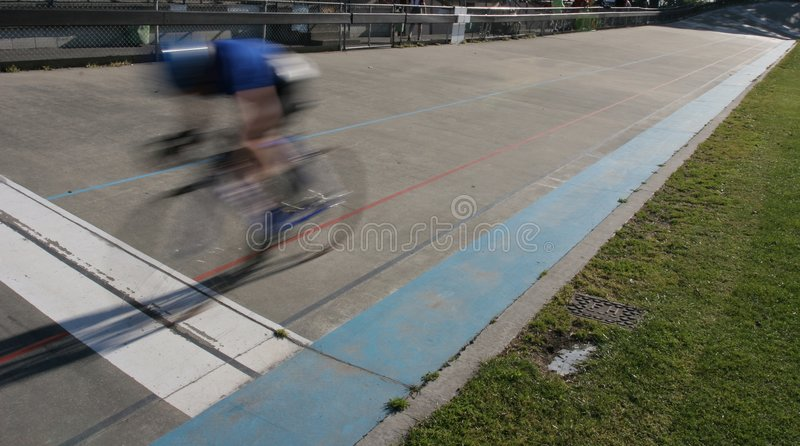 Download Cycle sprint winner stock image. Image of cyclist, velodrome - 410075