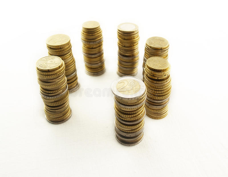 Download Cycle Towers of money stock image. Image of finance, steel - 14217167