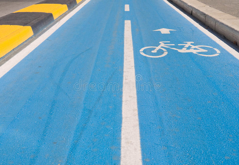 Cycle track. royalty free stock photo