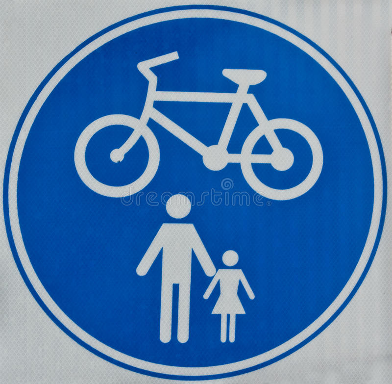 Free Cycle Track Sign Royalty Free Stock Photos - 20143318