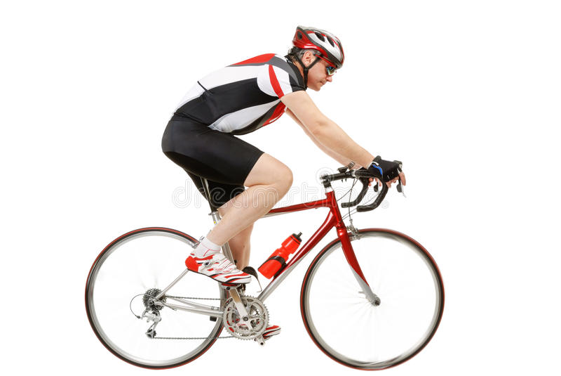 cycler royaltyfri fotografi