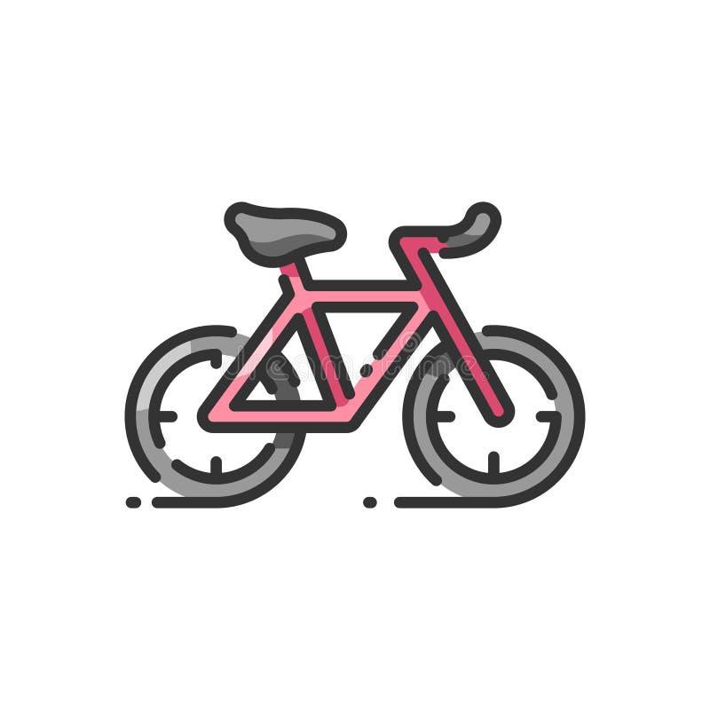 cycling stock illustratie