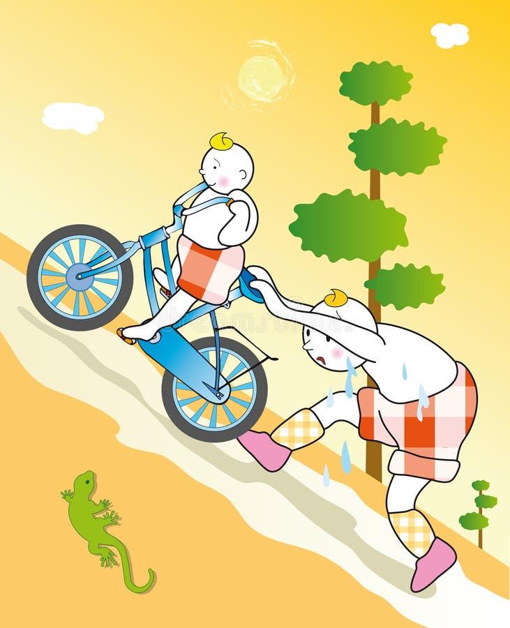 cycling stock illustration