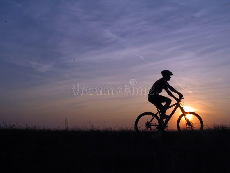 Cycling royalty free stock image