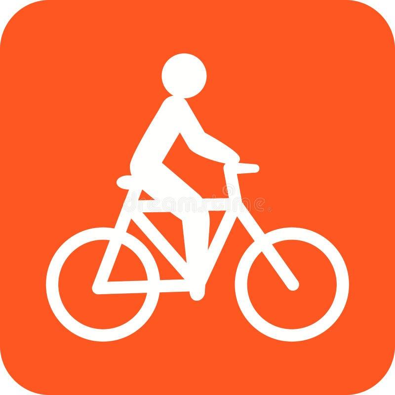 cycling vector illustratie