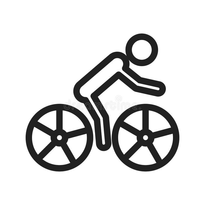 cycling royalty-vrije illustratie