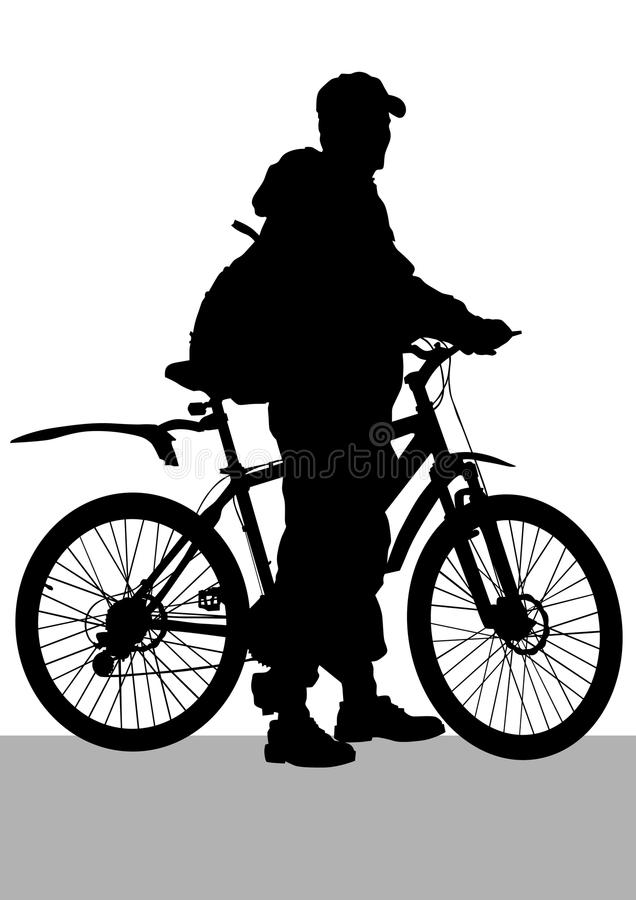 Download Cycling boy stock vector. Illustration of cycling, extreme - 23577021
