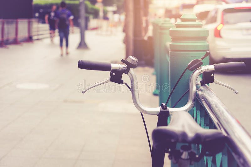 Cycling City ride Bicycle urban lifestyle Transporatation. Cycling City ride Bicycle urban lifestyle Travel Transportation royalty free stock photo