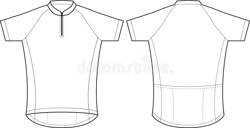 cycling jersey stock vector illustration of sweatshirt 27593749