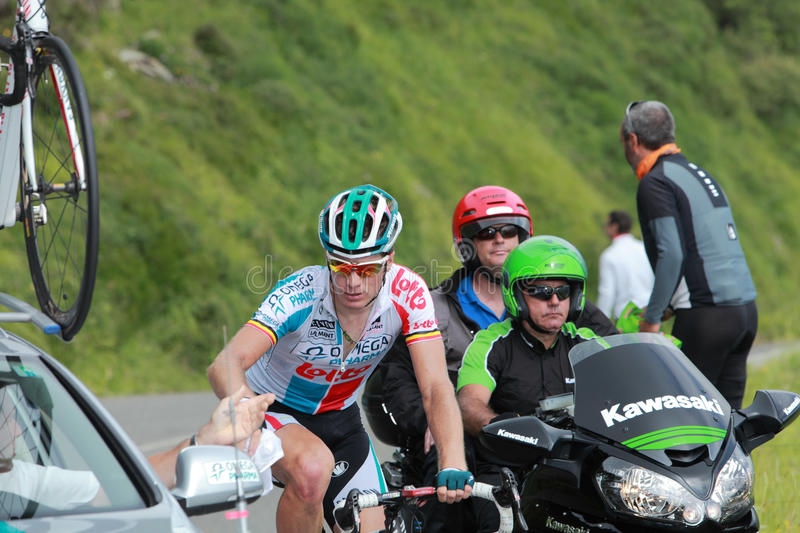 Download Cycling team editorial stock photo. Image of active, mountain - 22234153