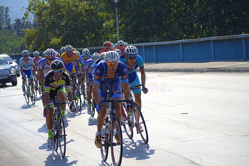 Cycling Tour,Bulgaria royalty free stock photo