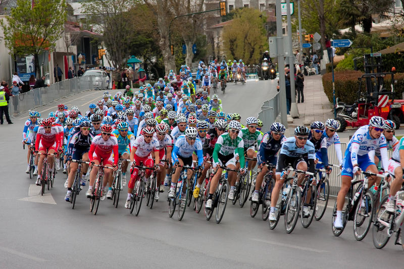 Download Cycling Tour Prologue Stage Editorial Photo - Image: 19276576