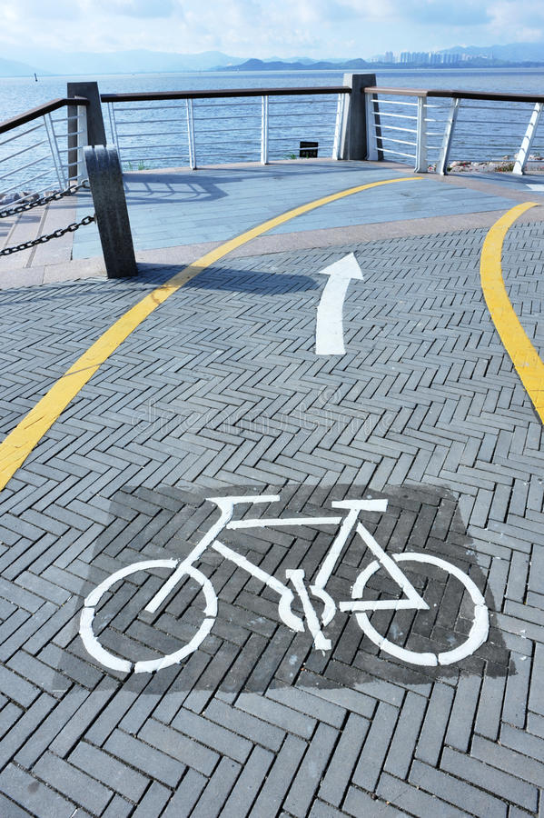 Download Cycling Way Forward Stock Photos - Image: 24697853