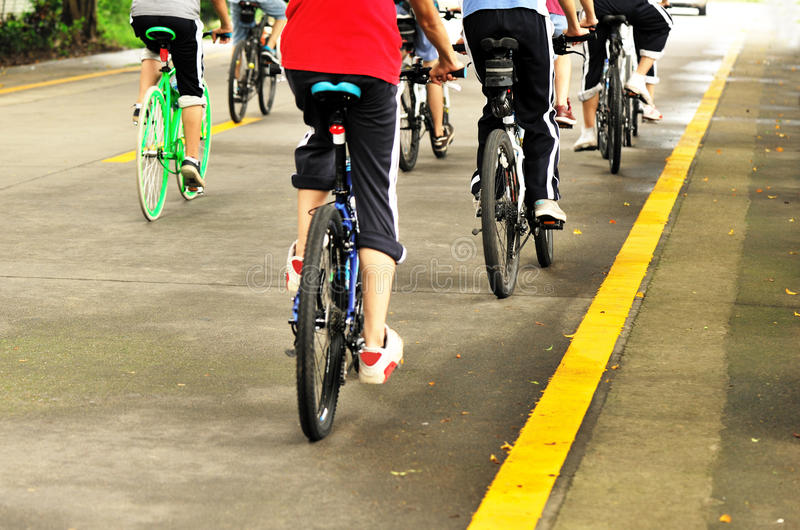 cyclist royalty free stock photos
